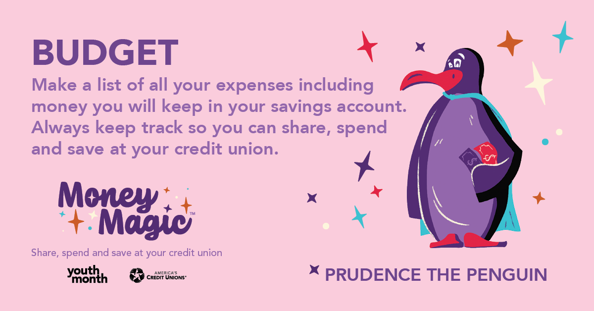 Budgeting with Prudence the Penguin